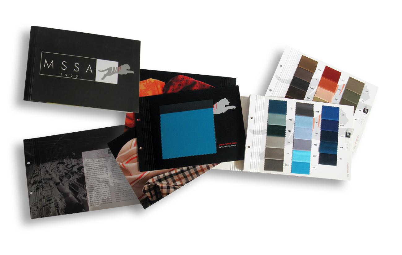 MSSA - Manifattura di Santo Stefano Arno srl – Varese Catalogo prodotti Settore tessile