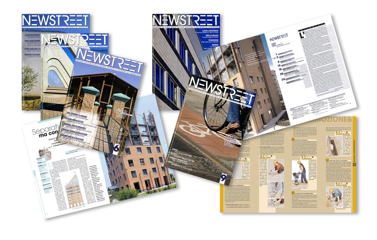 Newstreet Rivista periodica di settore Assobeton Ass.ne di categoria di Confindustria– Milano Settore edilizia