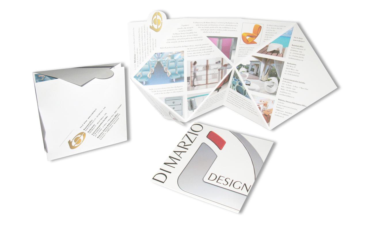 Di Marzio Design sas - Terni Pieghevole presentazione Settore design