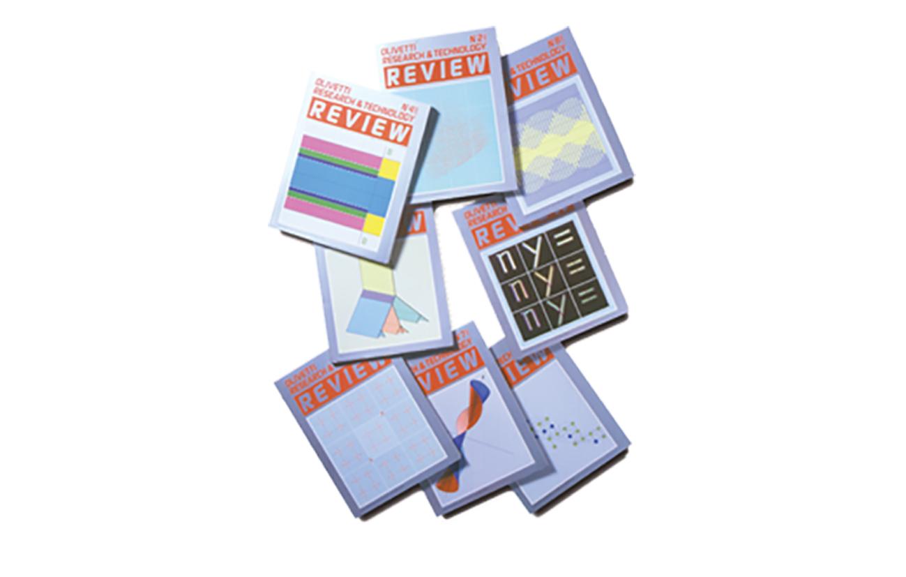 Review Rivista periodica tecnica Olivetti S.p.A. - Ivrea Settore tecnologia