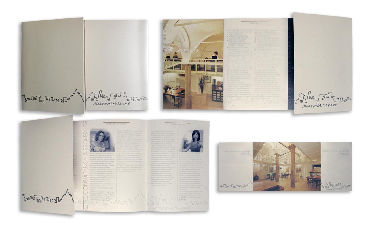 18 Montenapoleone srl - Milano Brochure istituzionale Settore immobiliare