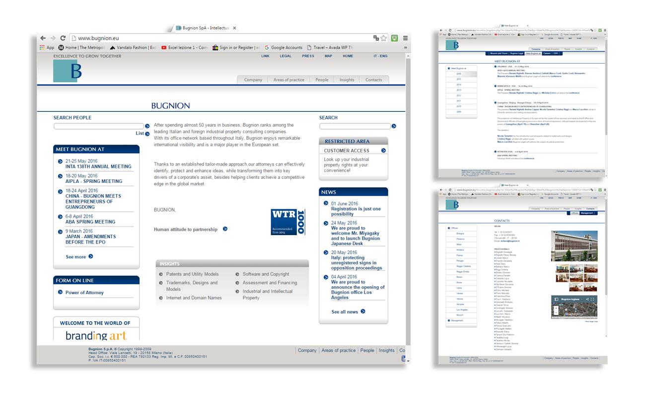 Bugnion Sito istituzionale - Bugnion S.p.A. - Milano Settore consulenza e servizi aziendali
