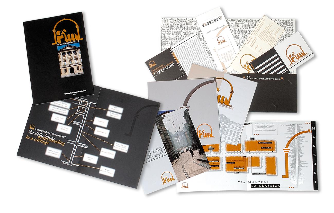 FIM Fabbrica Italiana di Mediazione sas - Milano Brochure istituzionale Settore immobiliare