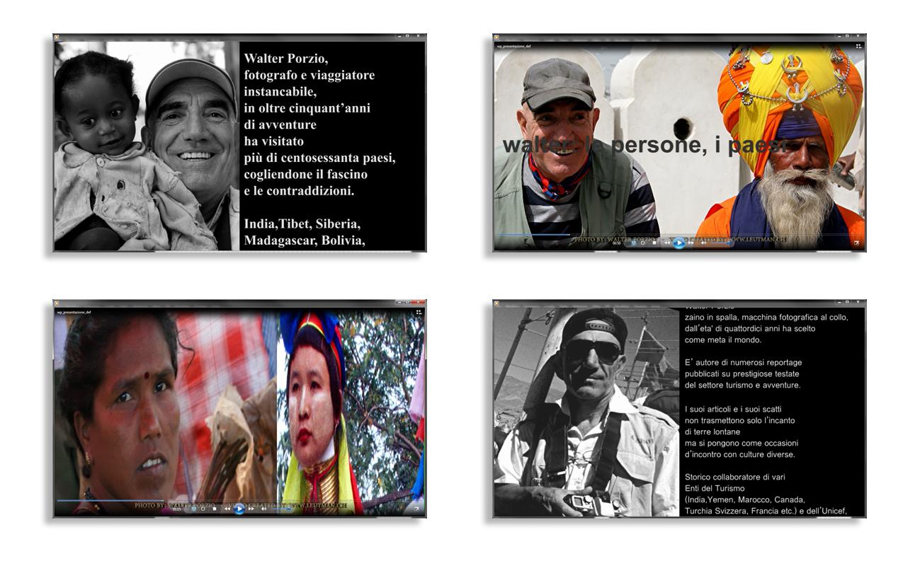 Porzio Presentazione video della mostra fotografica evento India Golf Cup–Walter Porzio - Milano Settore cultura
