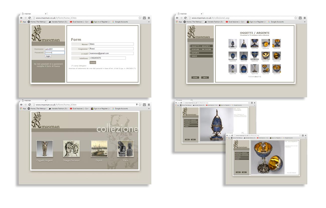 Masman Sito istituzionale - Massimiliano Manzoni – London Milano Settore arte e commercio