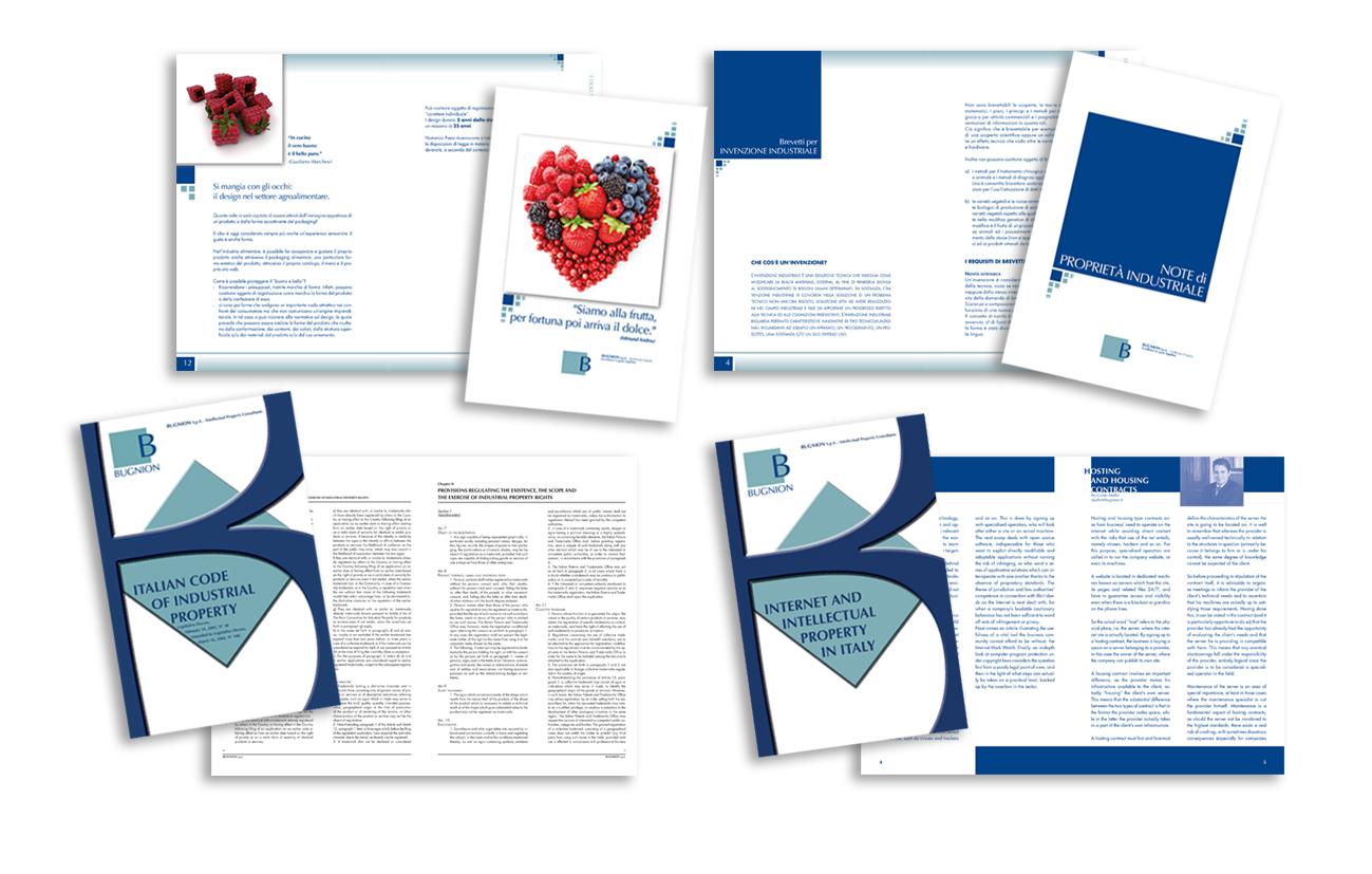Bugnion S.p.A. - Milano Brochure istituzionale e brochure di servizi Settore consulenza e servizi