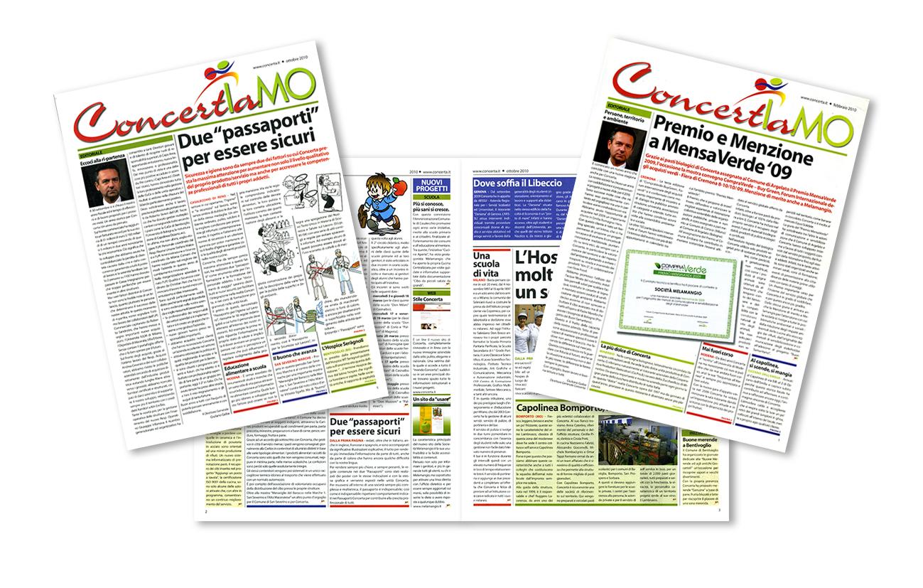 Concerta Riviste periodiche di settore Concerta S.pA. - Bologna Settore ristorazione organizzata