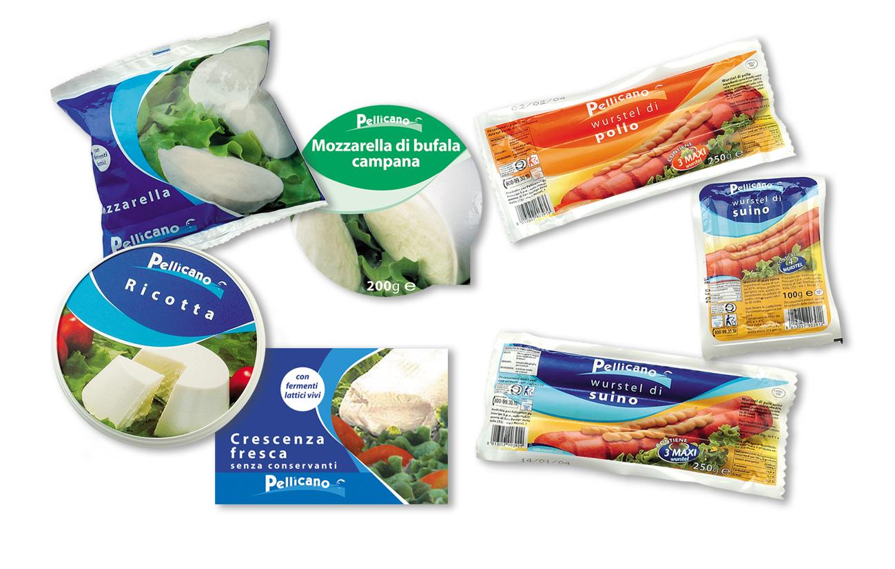 """Pellicano Supermercati – Dalmine Comunicazione integrata linea di prodotto a marchio """"Pellicano"""" Settore food GDO"""
