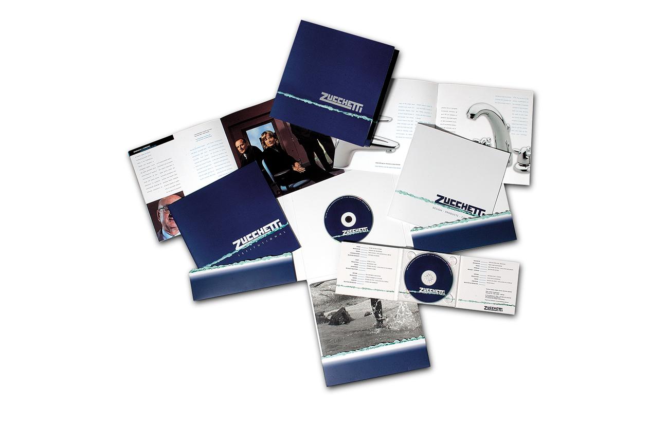 Zuchetti S.p.A. - Novara Brochure istituzionale e antologia della produzione Settore rubinetteria e accessori bagno