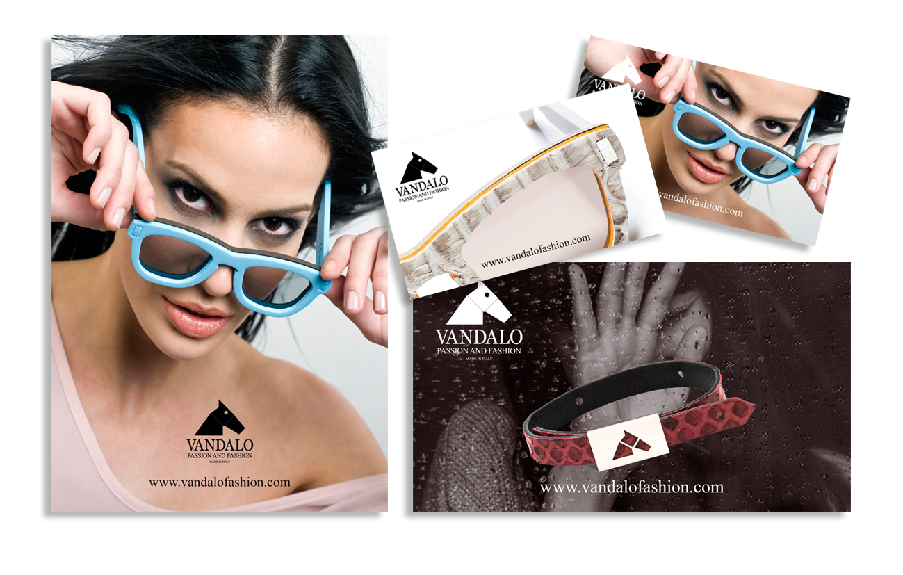 Vandalo srl Milano Campagna pubblicitaria su New media. Fashion