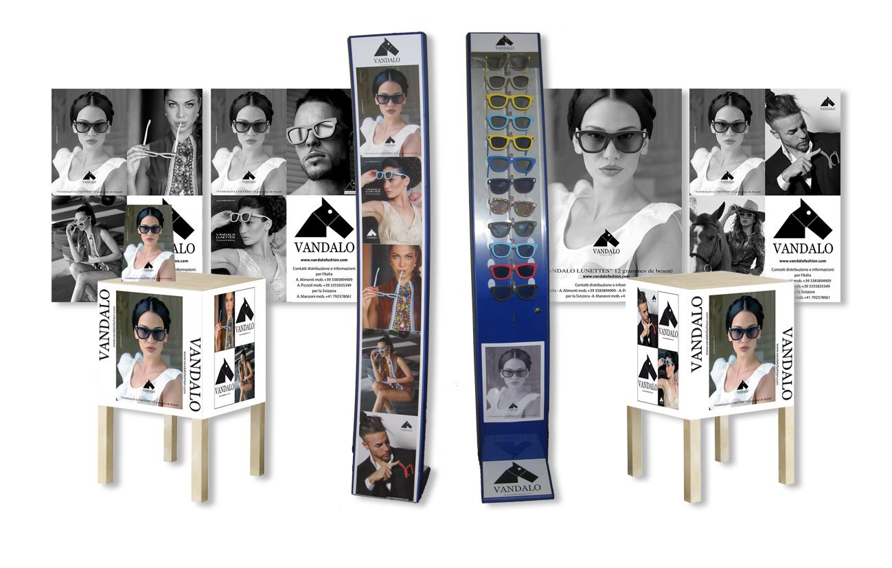 Vandalo srl – Milano Comunicazione integrata linea di prodotto Settore fashion abbigliamento accessori