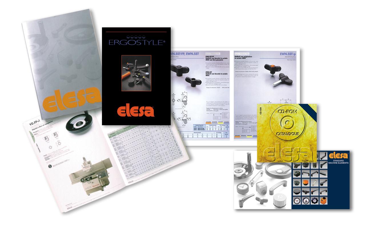 Elesa S.p.A. Monza Cataloghi prodotto Settore industriale
