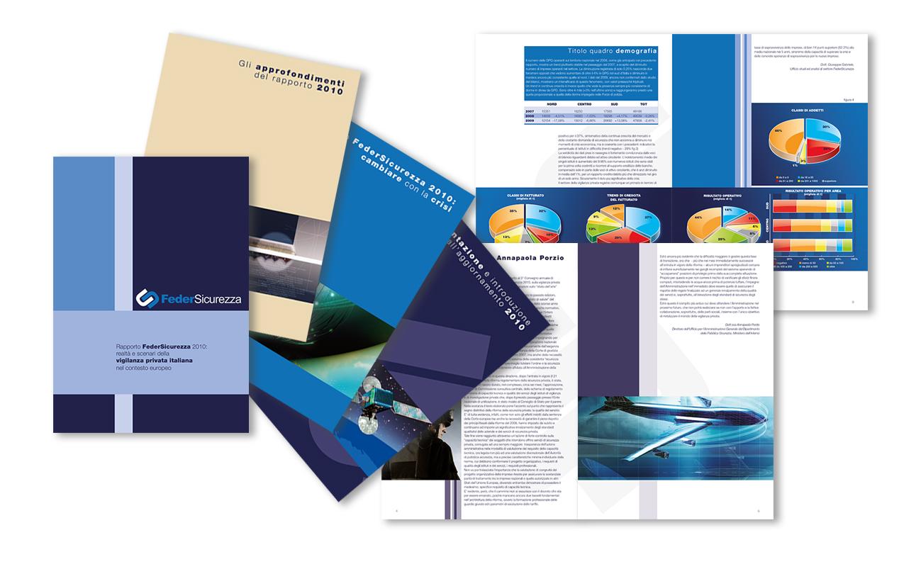 Feder Sicurezza Ass.ne Confcommercio– Roma Brochure rapporto attività Settore sicurezza e associazioni