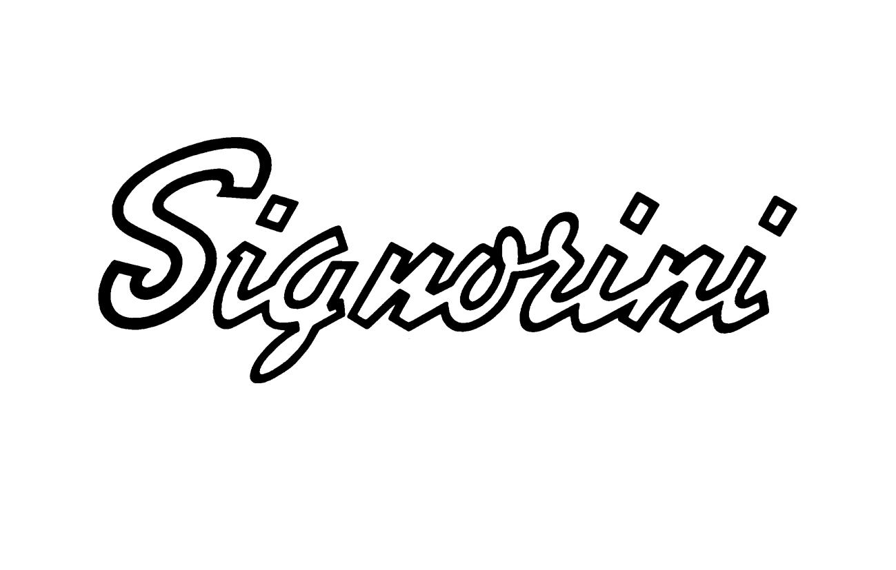 Signorini Signorini S.p.A. – Firenze Marchio istituzionale (redesign) Settore rubinetteria e impianti bagno